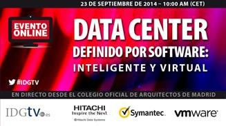 Streaming Centro de datos definido por Software HDS Symantec VMware