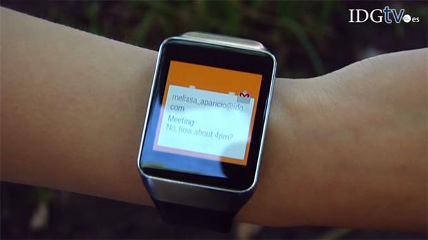Samsung Gear Live, smartwatch basado en Android Wear de ...