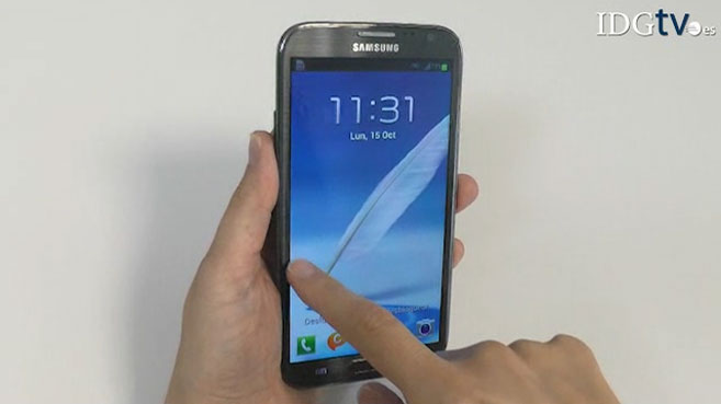 Analizamos el Samsung Galaxy Note II