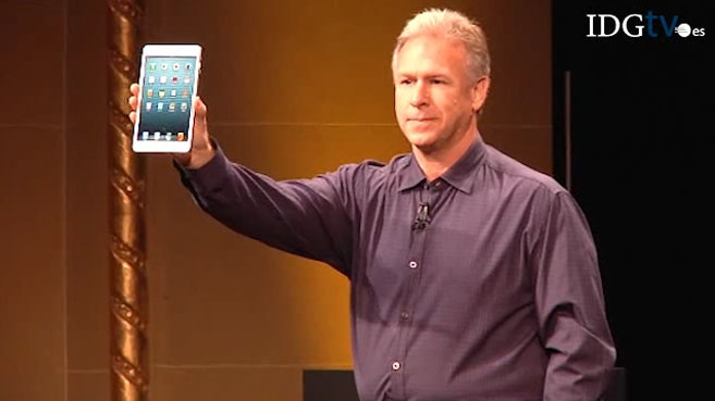 Apple presenta el iPad Mini y el iPad de cuarta generación