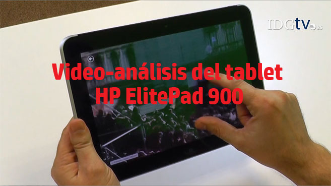 video analisis HP ElitePad 900