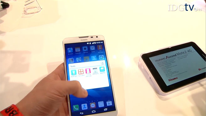 CES: Huawei Ascend Mate 2