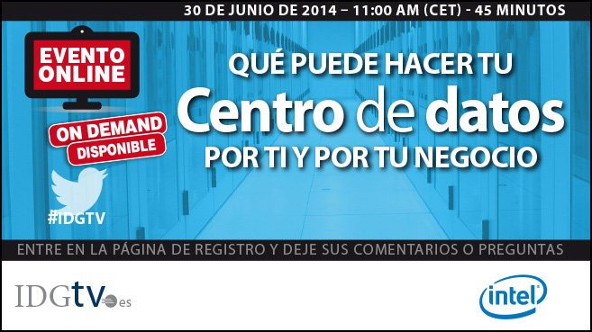 Centro de datos_webinar Intel_jun14_ondemand