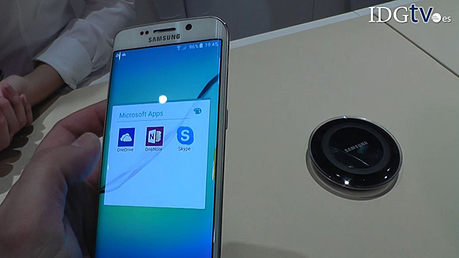 Samsung presenta el Galaxy S6 en el Mobile World Congress