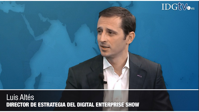 """Digital Enterprise Show es el mayor evento del mundo en transformación digital"", Luis Altés"