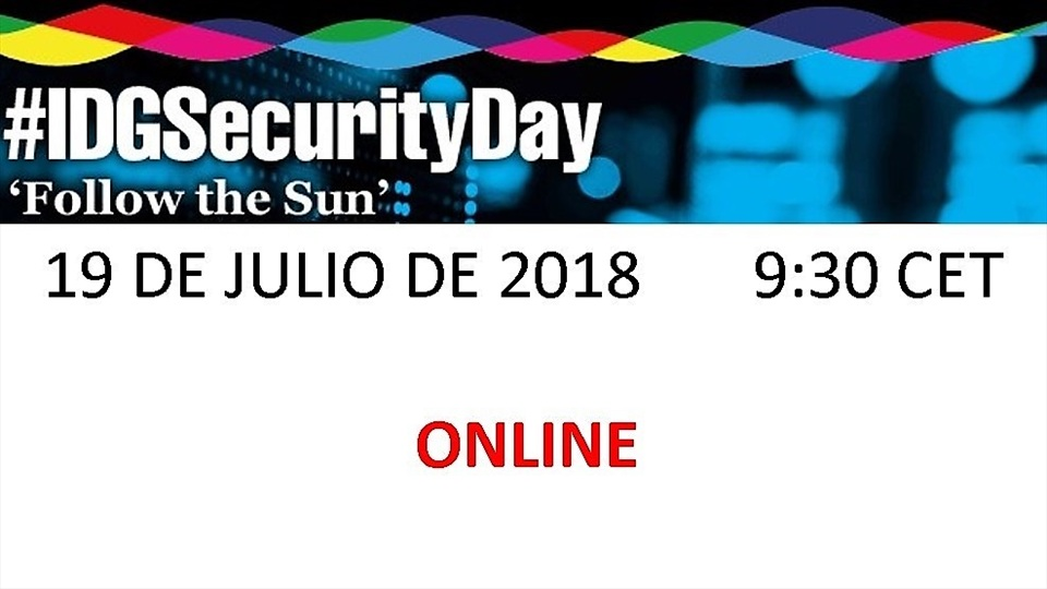 IDG Security Day 2018