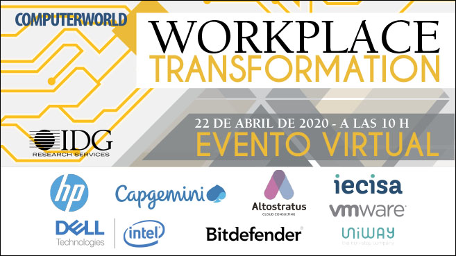 Portada Workplace Transformation 2020