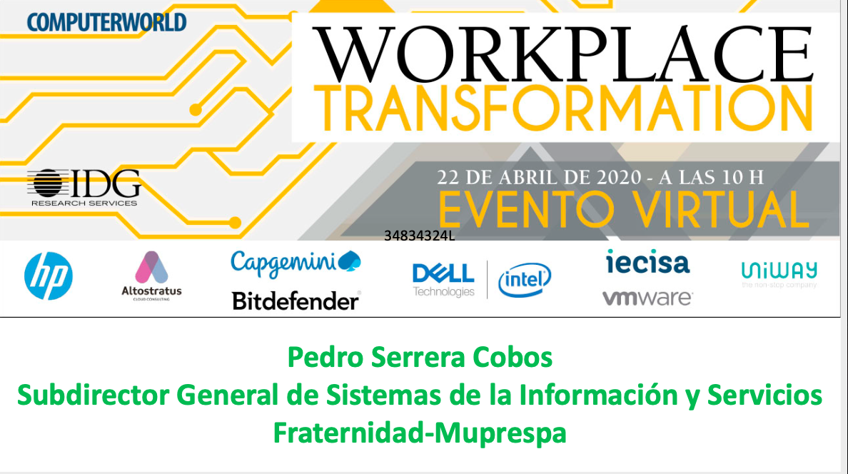 Evento Workplace - Fraternidad Muprespa