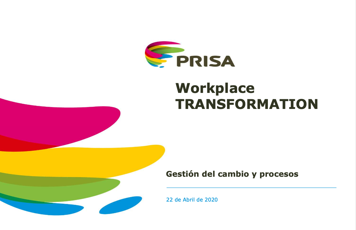 Evento Workplace - Prisa